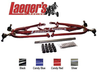 LAEGER'S STOCK TRAVEL A-ARMS HONDA